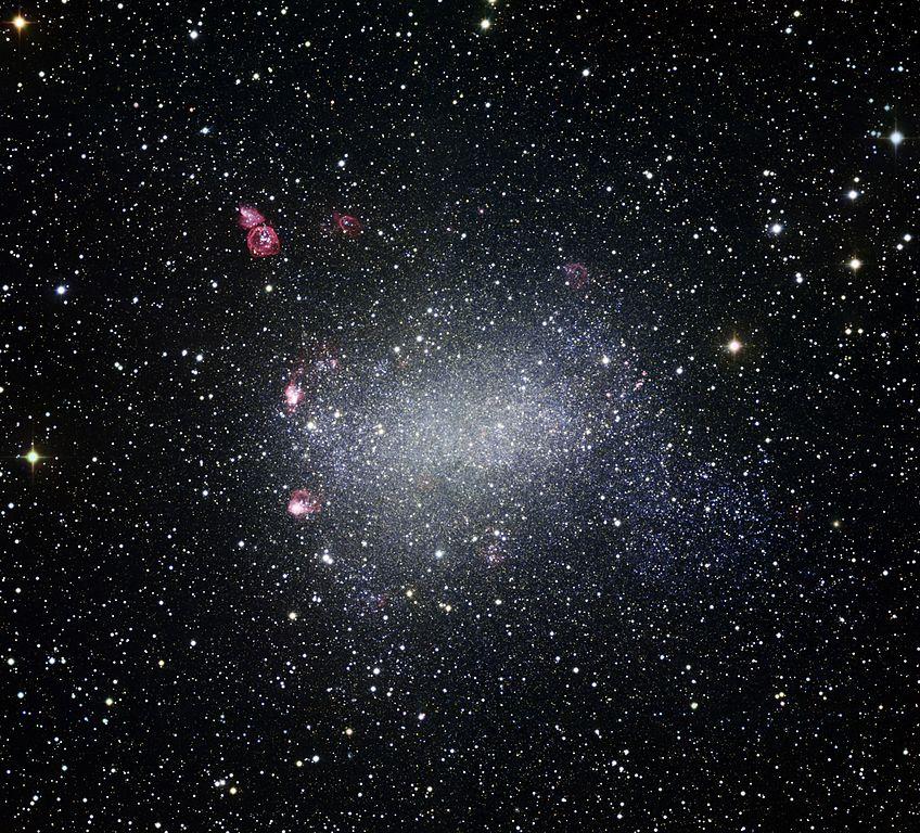 Barnard's Galaxy (NGC 6822)