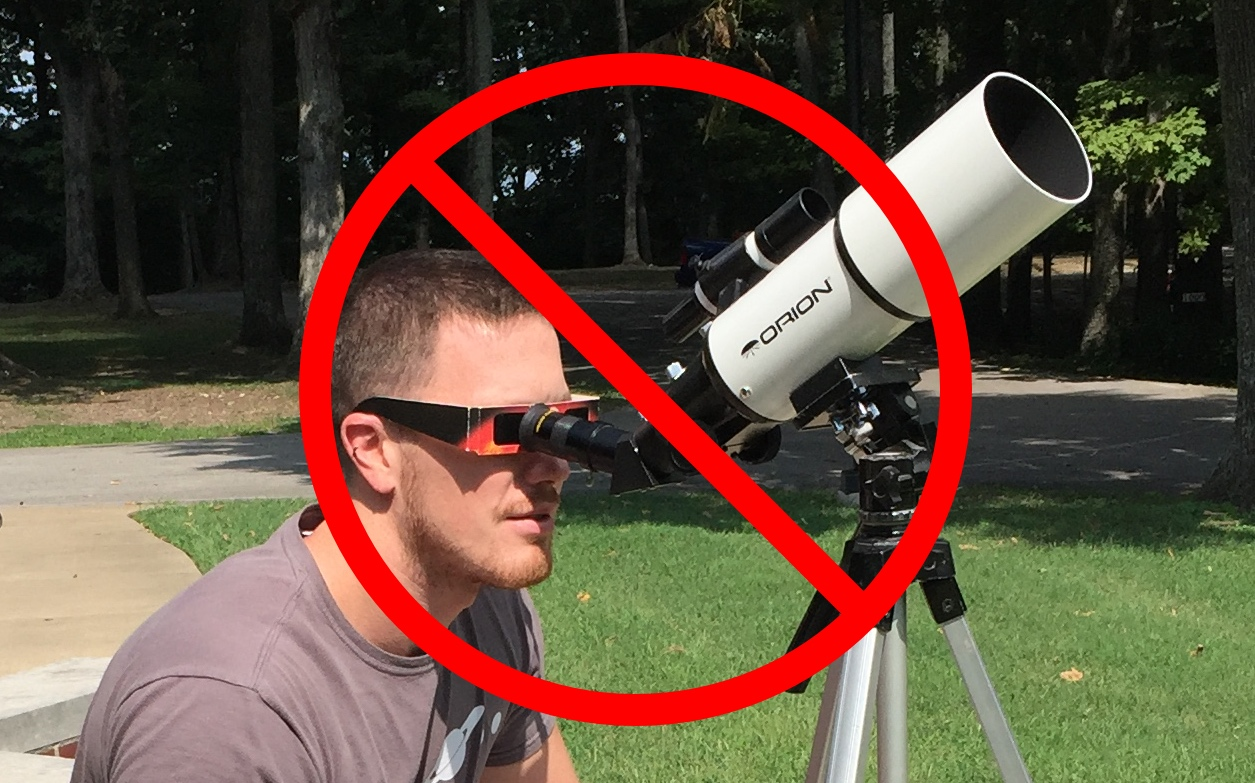 how to watch eclipse glasses